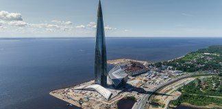 top 20 tallest buildings in Europe