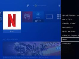 How to log out Netflix Account on a PS4? – Possible shapes
