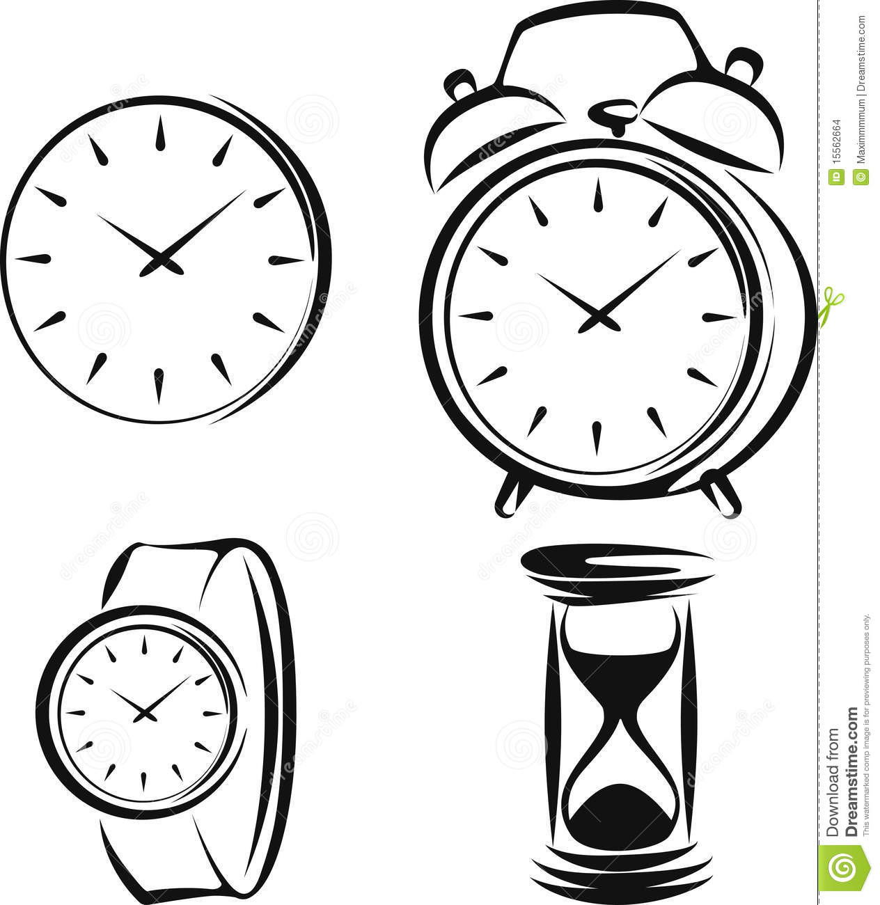 types of clocks images