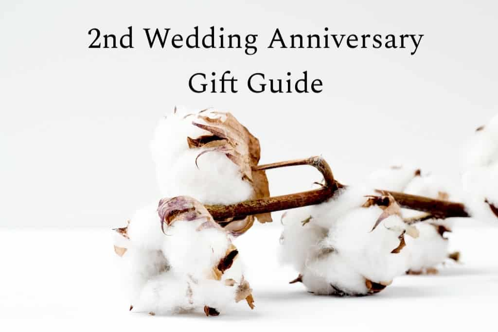 cotton anniversary gifts ideas