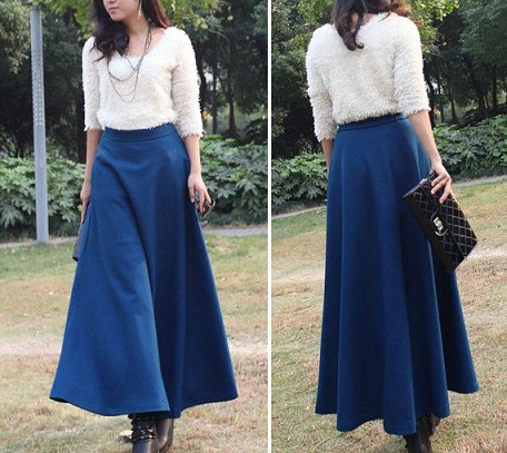 aline skirt outfits
