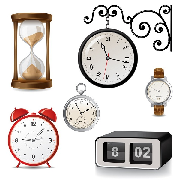 types of clocks for kids