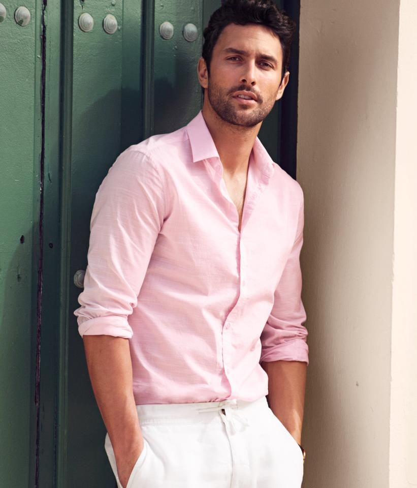 light pink shirt mens