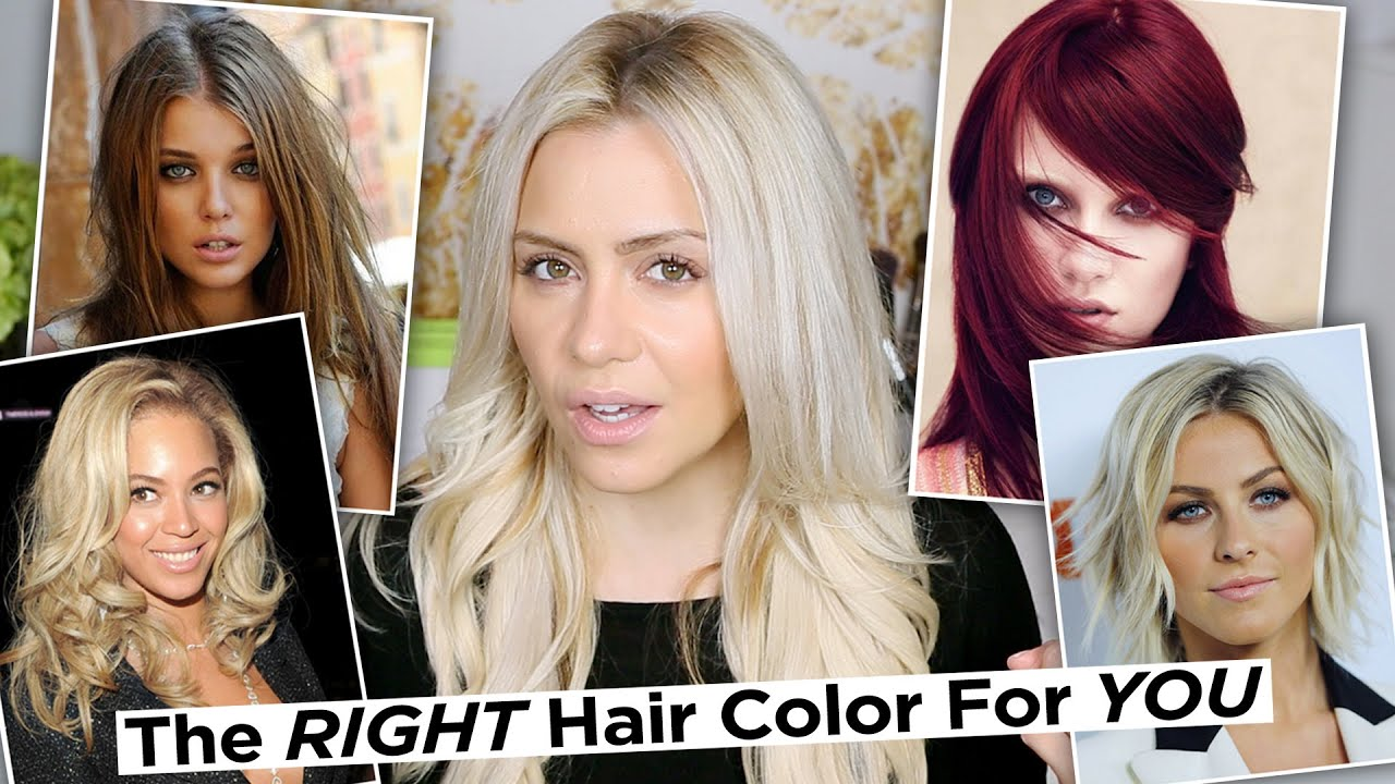 best hair color for pale skin