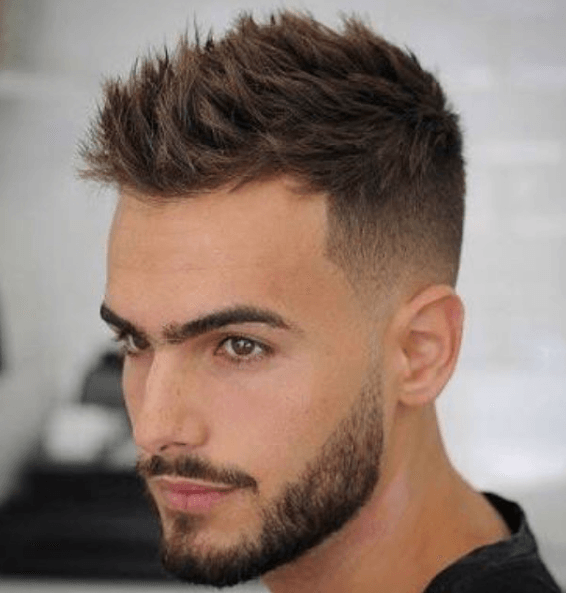 round face haircuts men