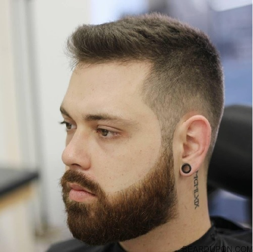 haircut and beard styles