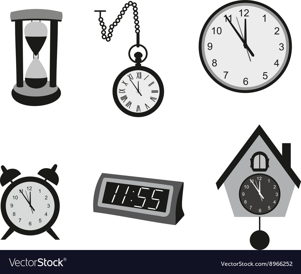 types of clocks with pictures
