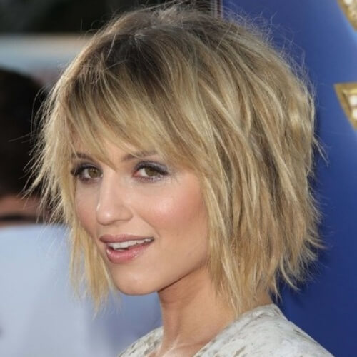 shaggy hairstyles for fine hair