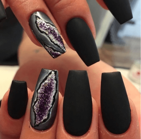 crystal nail designs