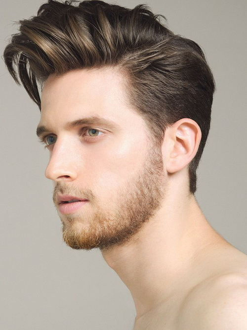 mens haircuts round faces