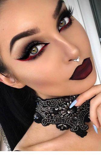 vampire makeup looks