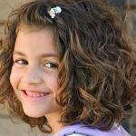 hairstyle for little girls with curly hair
