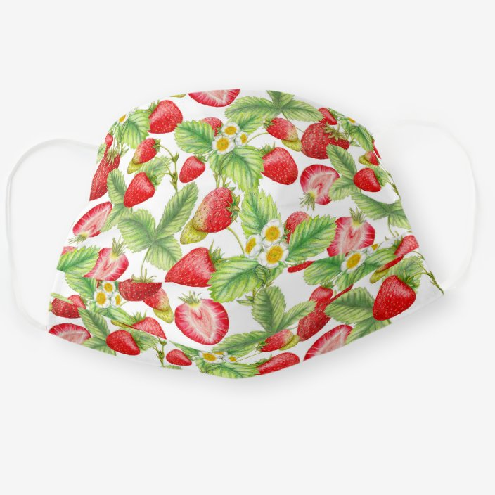 strawberries face mask