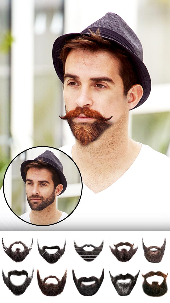 mustache and beard style