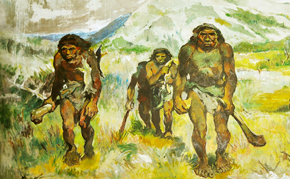 Image result for early hunter gatherer humans