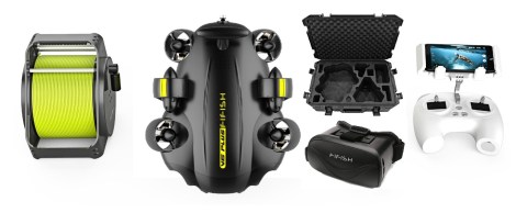 Fifish V6 PLUS in the box