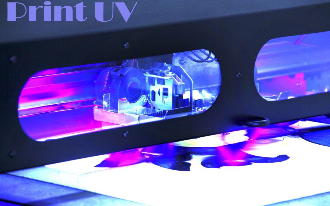 print UV pret