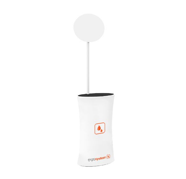 PROMO COUNTER OVAL exposystem