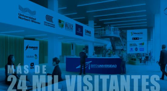 Expouniversidad virtual 2020 recibió más de 24 mil visitantes