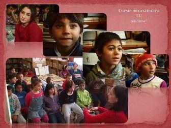 """""""Citește-mi ca să învăț și EU să citesc!"""" este un program de alfabetizare a copiilor din medii sociale defavorizate. Campania noastră de promovare a lecturii se axează pe atragerea unei categorii sociale defavorizate către bibliotecă, către lectură și către cunoaștere – preșcolari, copii neșcolarizați și elevi din ciclul primar și gimnazial. Biblioteca Municipală Medgidia, Filiala Nord, judeţul Constanţa, bibliotecar Alina Valentina Ocheană, 19 nov 2015"""