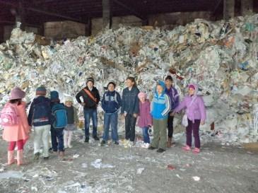 Vizita elevilor la Fabrica de Hârtie Vrancart de la Adjud (2014)
