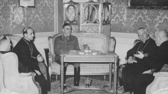 Alojzije Stepinac, Ante Pavelić