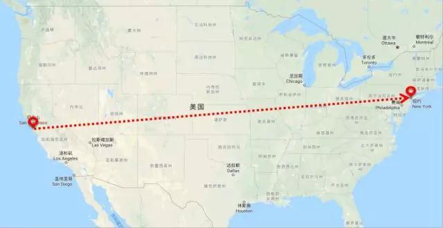 夾在兩座大山中間,美國中部本地派送成迷? - 遞四方速遞