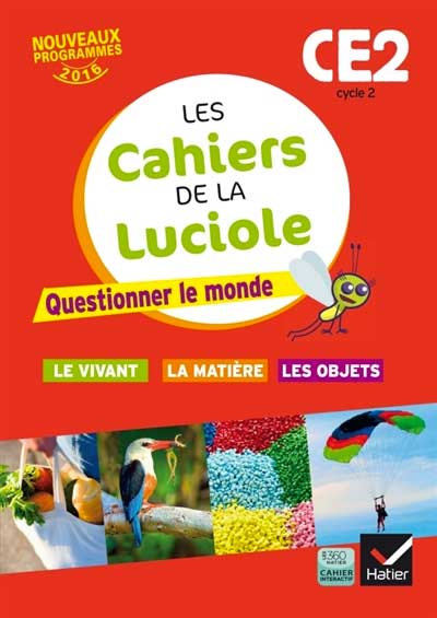 Cycle 2 Questionner Le Monde : cycle, questionner, monde, Cahiers, Luciole, Questionner, Monde,, Cycle, ExpressBouticScolaire