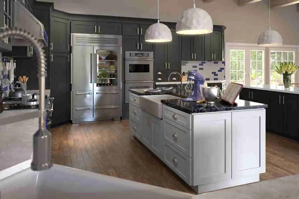 Forevermark Cabinetry Grey Stone Shaker