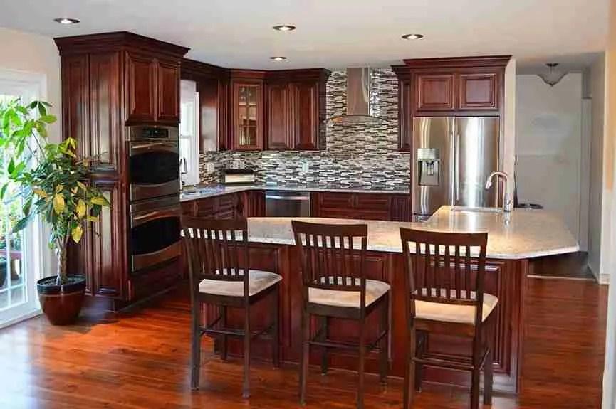 21st Century Cabinetry Sedona Mahogany Maple