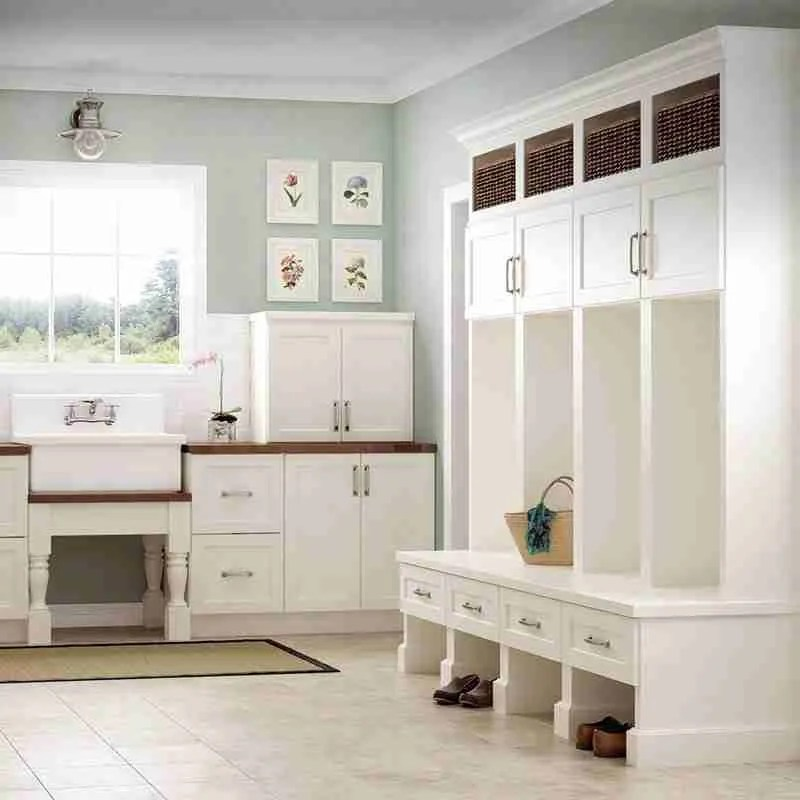 Woodland Cabinetry Mudroom