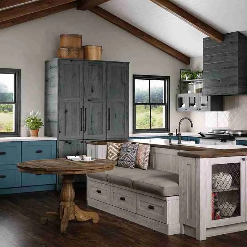 Woodland Cabinetry Patina Stone