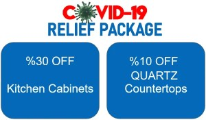 Express Kitchen and Bath 10 OFF covid relief package