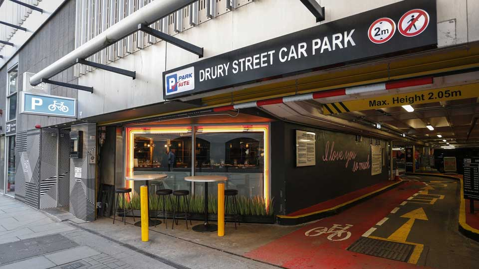 Drury Street Car Park - Express Car Wash