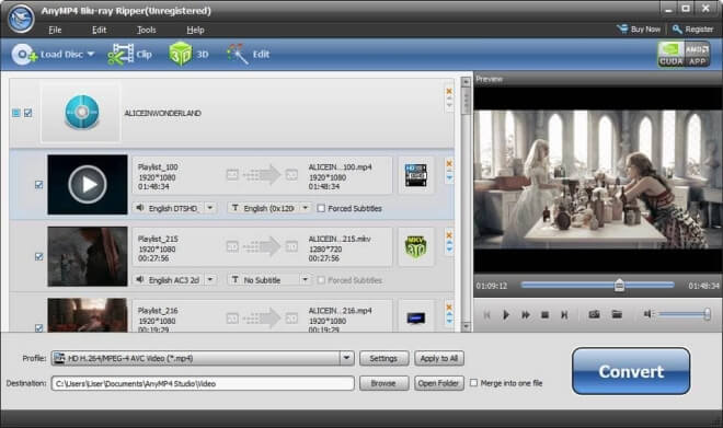 AnyMP4 Blu-ray Ripper 8.0.37 Crack + License Key & Patch Version Download