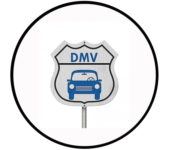 Visit your local DMV