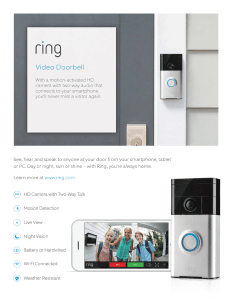 ring doorbell, ring camera, security camera