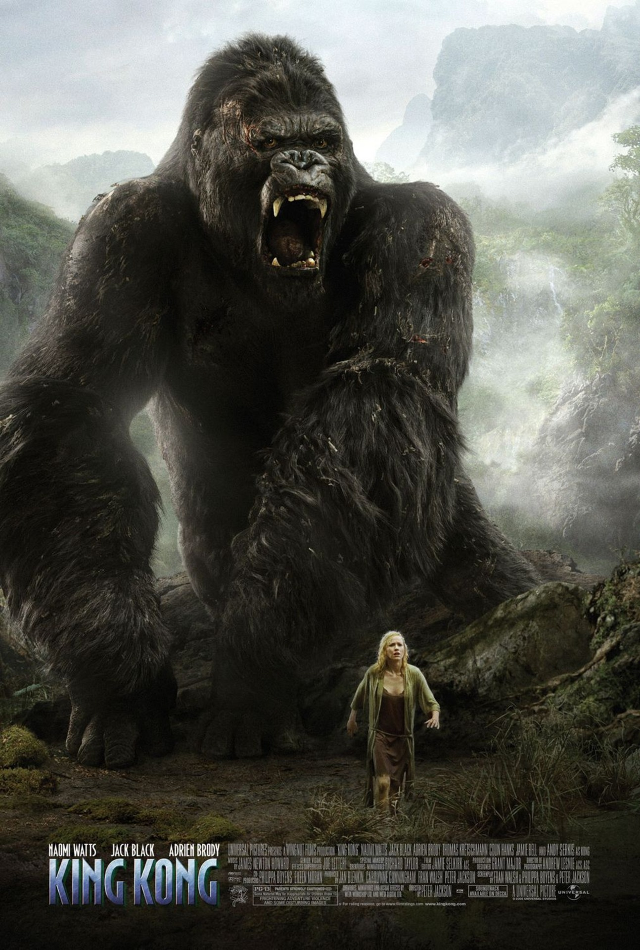 'King Kong' (2005): Peter Jackson's Original Pet-Project | Express Elevator to Hell