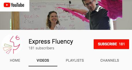 Express Fluency on YouTube
