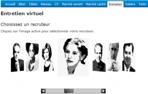 entrevista trabajo en francés