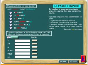 le passe compose verbo en er