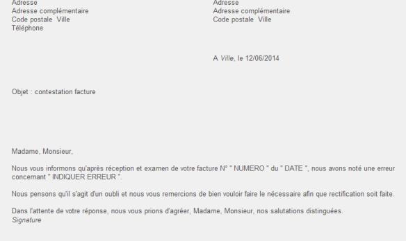 Carta De Reclamacion En Frances Expressfrancais