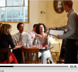 dialogo frances en el restaurante 1