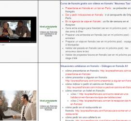 pagina videos en francés con subtitulos