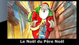 cuento en frances con subtitulos en frances le noel du pere noel
