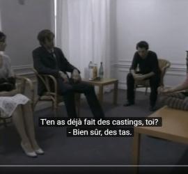 corto en frances con subtitulos en frances Le Trac