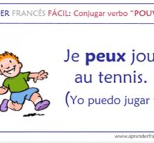 el verbo pouvoir en frances para niños