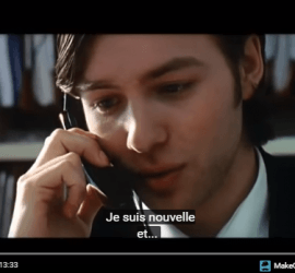 corto con subtitulos en frances Engrenage