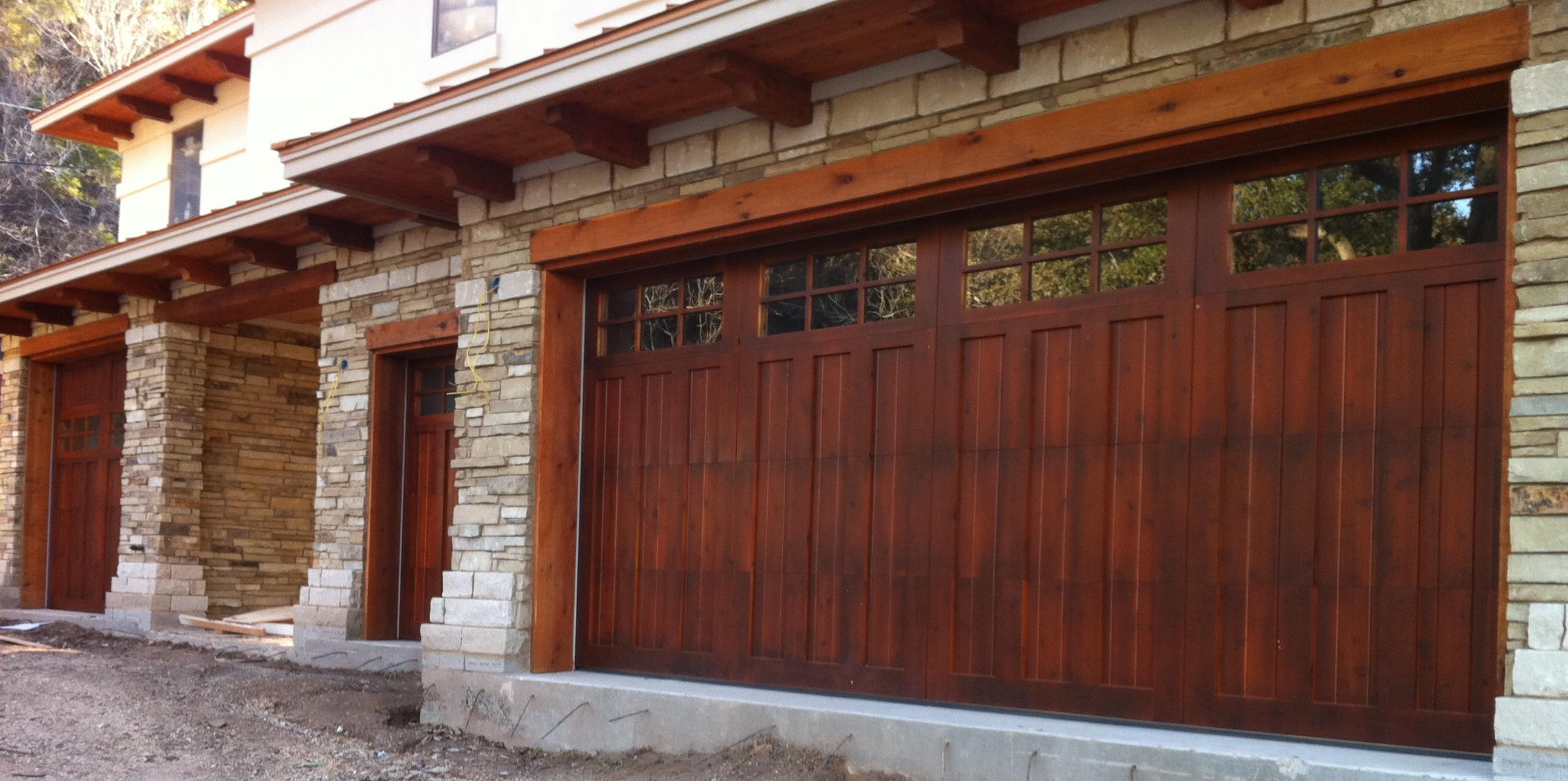 Wood Garage Doors  Repair and Install  Toronto and GTA