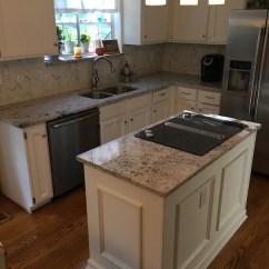 Kitchen Islan Remodel Granite Countertop | Gallery Slabs O ...